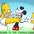 シンプソンズ嫌悪感丸出しでディズニーを宣伝する(笑)